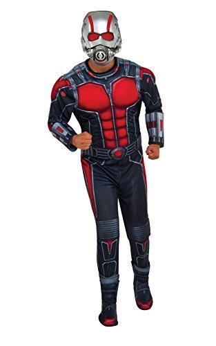 Rubie's Costume Co Men's Ant-Man Deluxe Costume, Multi, Standard (Ant Man Costumes)