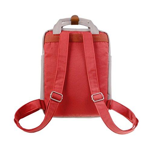 Ivory Macaroon Women's X Pumpkin Doughnut Mini Backpack vxqAWYw