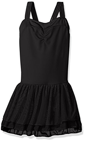 Capezio Dress - Capezio Girls' Little Girls' Bella Dress, Black, Intermediate