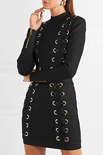 Kleider schwarz kurz eng