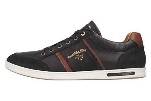 Pantofola Baskets black homme 25Y pour 10181069 d'Oro 5r0zwOSqxr