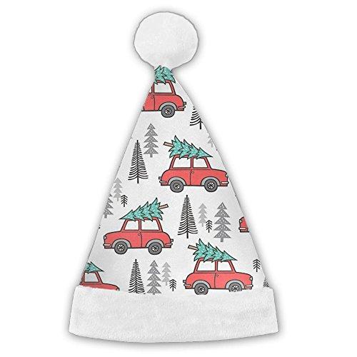 ChengGo Wood And Axe Printed Santa Hat\r\n Resists Wrinkles For Family Man Elf Christmas Hates (Male Wood Elf Costume)