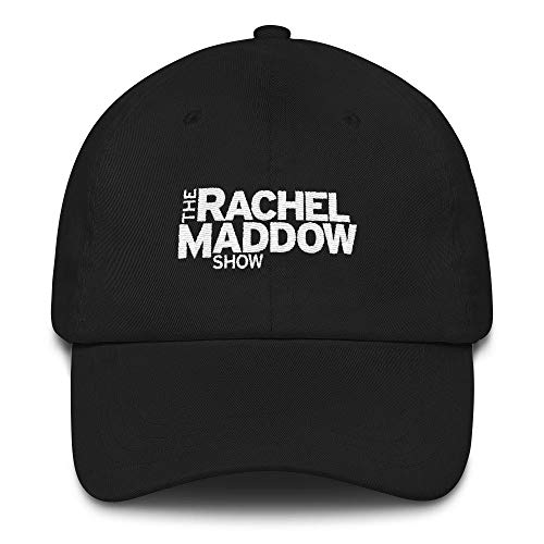 The Rachel Maddow Show Embroidered Logo Hat-Black