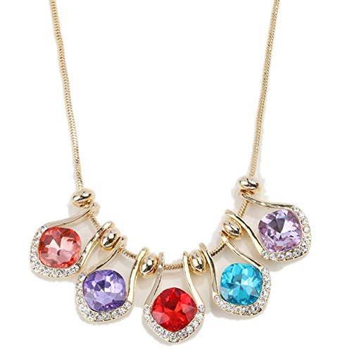 NL-07070C1 Alloy Non-Mainstream Diamond Diamonds Women Necklace