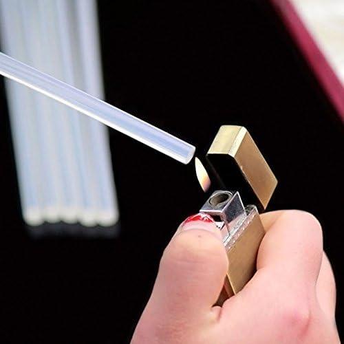 LARS360 B/âtons de colle chaude 11 x 200mm Transparent Baton De Colle Chaud Recharge Pour Pistolet pour Projets Bricolages R/éparations Rapides dans Maison /& Bureau 12KG