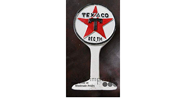 Wall Mount. Cast Iron Texaco Fuel Bottle Opener New Mancave Collectable