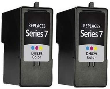 GR282/_2PK 2//PK Series 7 SuppliesMAX Compatible Replacement for Dell 966//968//968W Color Inkjet