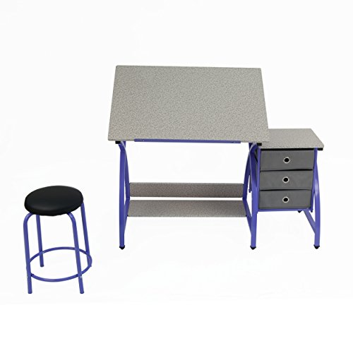 Comet Center with Stool in Purple / Spatter Gray by SD STUDIO DESIGNS (Image #2)