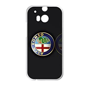 Happy Alfa Romeo sign fashion cell phone case for HTC One M8