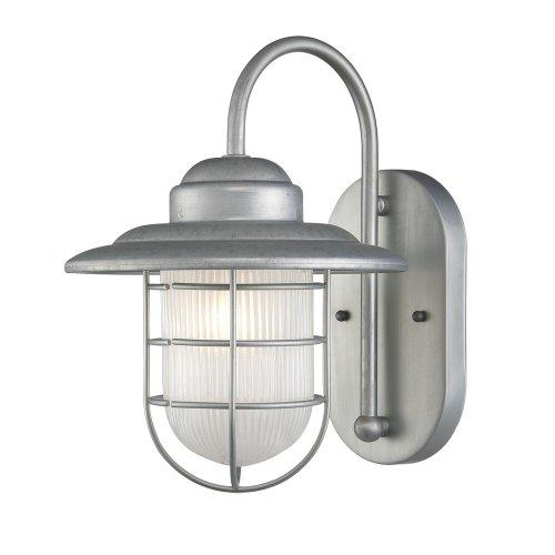 Millennium 5390-GA One Light Wall Bracket, Pwt, Nckl, B/S, -