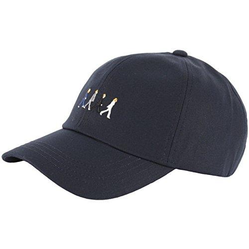 46292e2c7aff2 Galleon - RaOn B137 Beatles Abbey Road Hommage Character Music Ball Cap  Baseball Hat Truckers (Navy)