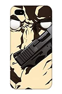 Exultantor Fashion Protective Anime Ghost In The Shell Case Cover For Iphone 4/4s