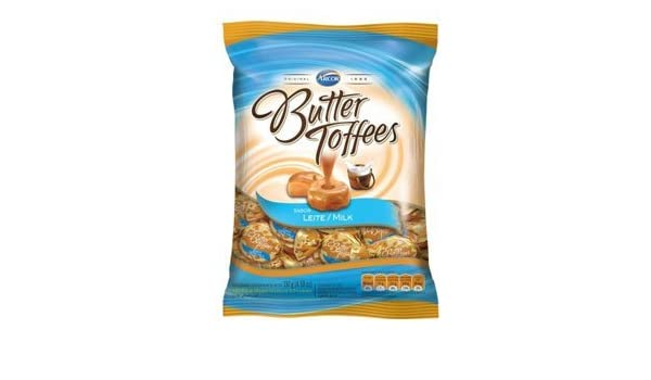 Amazon.com: Arcor, Butter Toffees, Milk, net weight 127 g (Pack of 2 pieces) / 8eststore by KK: Everything Else