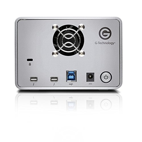 G-Technology G-RAID with Thunderbolt Dual Drive Storage System 8TB (Thunderbolt-2, USB 3.0) (0G04085)  by G-Technology (Image #2)