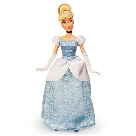12' Rag Doll - Classic Disney Princess Cinderella Doll - 12''