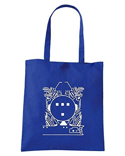 T-Shirtshock - Bolsa para la compra FUN0231 09 19 2012 Tron T SHIRT det Azul Real