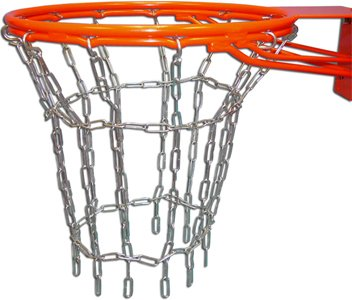 (Gared Welded Steel Chain Basketball Net for Double Ring Goals)