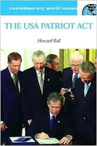 Rethinking the Patriot Act