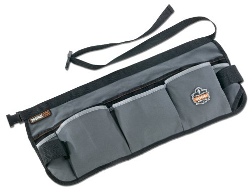 Arsenal 5706 Canvas Waist Tool Apron with 13 Pockets, Gray by Ergodyne