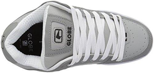 La Inclinación Skate Zapato Gris De Los Hombres De Globo / Gris / Blanco Venta de tienda Nuevos estilos para la venta YrgTjXjq