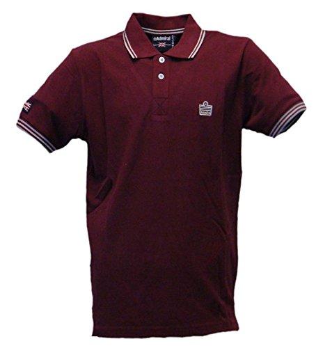 Logo Polo 038 Shirt Hombre Burdeos Sportswear Admiral qT8nztq