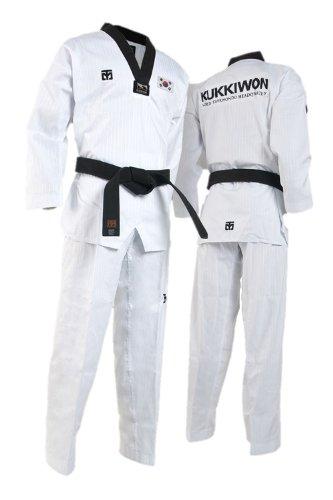 Mooto BS4 Kukkiwon/Kukkiwon Demo Team Official Uniforms WTF TaeKwonDo DoBok 1 to 7 (Korean Flag Patch(Demo Team), 180(US4)(5.57~5.90ft or 170-180cm))
