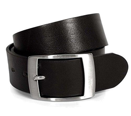 (CM1-140) Mens Black Belt 100% Real Leather 28,30,32,34,36,38,40,42