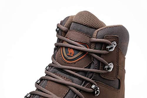 CAMEL CROWN Chaussures de Randonnée Homme Maintien Confort Respirant, Trekking Alpinisme Bottes de Randonnée Montagne… 4