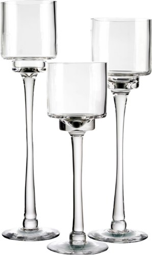 Candle Holder Glass Amazon Com
