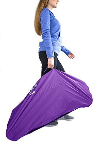 Stroller Travel Bag for Airplane Gate Check in - Large Standard or Double Stroller Purple by Reperkid (Image #5)