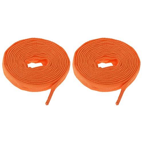 Accessoires Roulettes Rollers Orange Paire Fityle À Lacets De Skate Patin 1 F Fzx8qwH1P