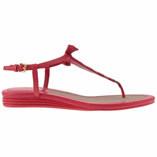 Cole Haan Vrouwen Analyn Sandaal True Red / Cremini Canvas