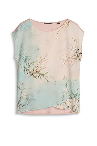 ESPRIT Collection 037eo1k004, Camiseta sin Mangas para Mujer Rosa (Nude)