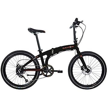 Dahon IOS D9 Obsidian Bicicleta Plegable bicicleta negro