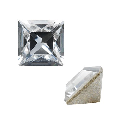 Swarovski Crystal Stone (Swarovski Crystal, #4428 Square Fancy Stone 3mm, 10 Pieces, Crystal F)