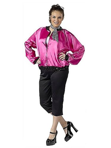 Size 24w Halloween Costumes (Plus Size 50's T-Bird Sweetie Costume - Womens Plus 16W-20W)
