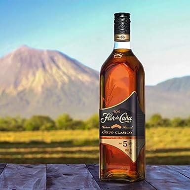 Ron Flor de Caña 5 Años Añejo Clásico 70cl: Amazon.es: Alimentación y bebidas