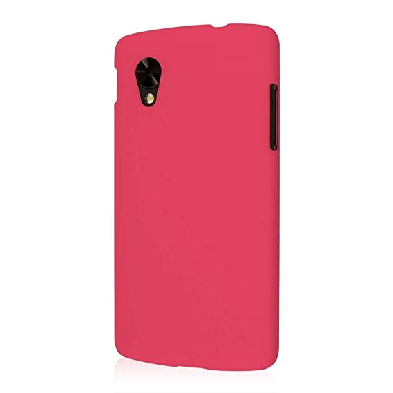 the latest d6005 d99a9 EMPIRE KLIX Slim-Fit Hard Case for Google Nexus 5 - Soft Touch Hot Pink