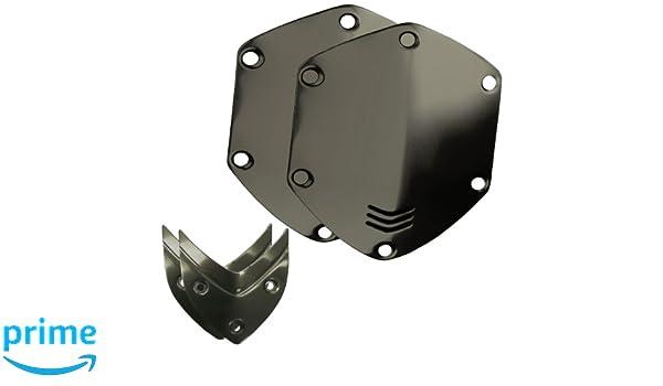 V-MODA LP LP2 M-100 Crossfade - Protectores metálicos intercambiables para auriculares de diadema, color negro: Amazon.es: Electrónica
