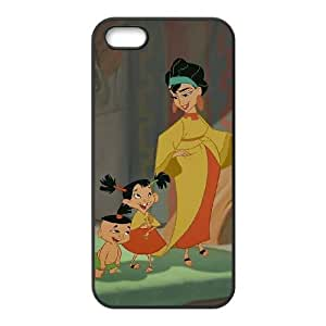 iPhone 5 5s Cell Phone Case Black Disney The Emperor's New Groove Character Chicha NOI