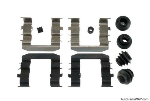 Carlson 13574Q Front Disc Brake Hardware Kit