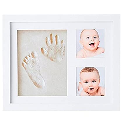 Blue TIck Tocking New Creative Baby Clean Inkless Touch Ink Pad Toddler Safe Non-Toxic Footprint Handprint Ink Pads
