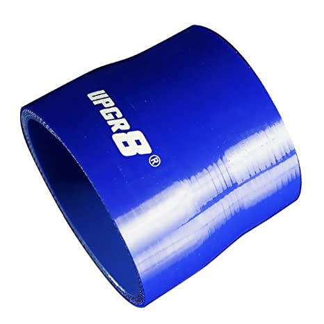 Upgr8 Universal 4-Ply High Performance Straight Reducer Coupler Silicone Hose 1.25 to 1.5 , Blue 32MM 38MM