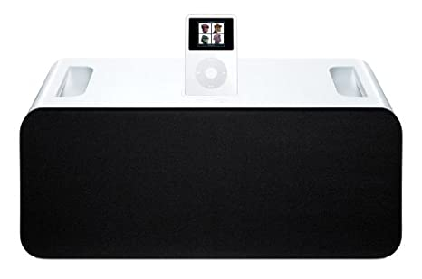 8305fdf5836d Amazon.com  Apple Hi-Fi Home Stereo for iPod (White) (Discontinued by  Manufacturer)  Home Audio   Theater