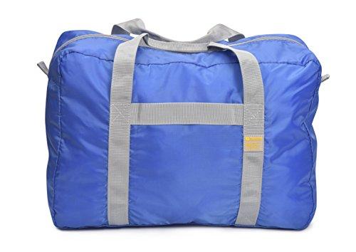 Black 060 Casual Bag Blue cm 30 49 Daypack L Travel Folding Carry wqPU4Zf
