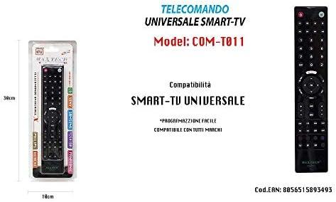 TrAdE shop www.tradeshopitalia.con - Mando a Distancia Universal Compatible con Netflix You Tube TV Smart 3D MAXTECH COM-T011: Amazon.es: Hogar