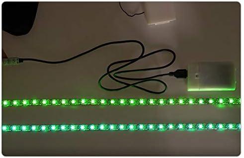 Emove Tira De Luz LED para Scooter Accesorio De Scooter El/éctrico Xiaomi M365 Seguridad De Ciclismo Nocturno Tira De Luz Decorativa Decoraci/ón Interior Al Aire Libre Luz Colorida Iluminaci/ón Duradera
