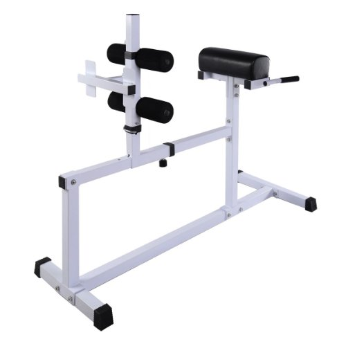 Goplus Fitness Hyper Extension Hyperextension Bench Chair Workout Core Abdominal by Goplus