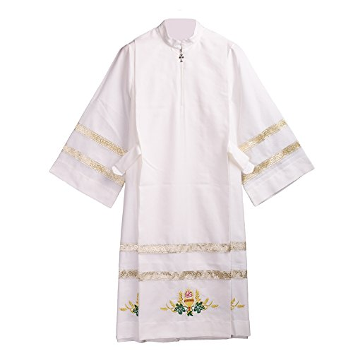 BLESSUME Church Alb Embroidered Vestments by BLESSUME