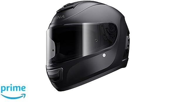 Amazon.es: Sena Momentum Lite, Bluetooth Casco, Full Face, M Size, ECE, mate Black, tamaño 57 ~ 58 cm